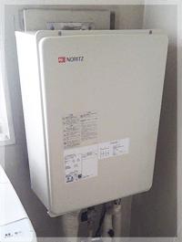 多摩平で給湯器の交換事例