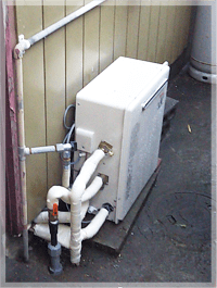 東久留米市滝山で給湯器の交換事例