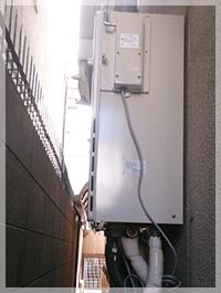 摂津で給湯器の交換事例