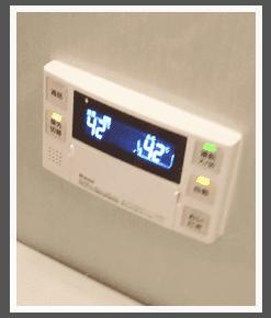 給湯器の施工例-リモコン/川越市④